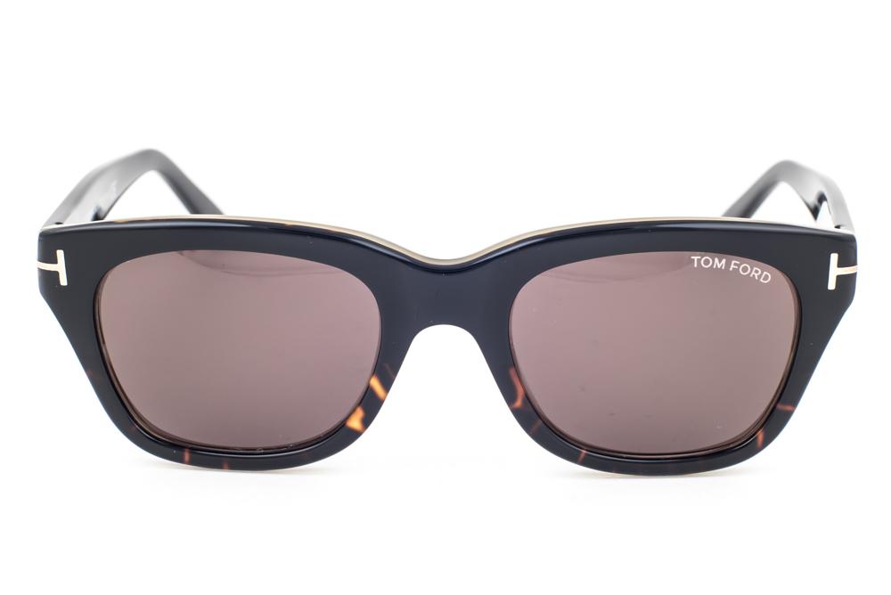 tom ford snowdon black havana brown gradient sunglasses. Black Bedroom Furniture Sets. Home Design Ideas
