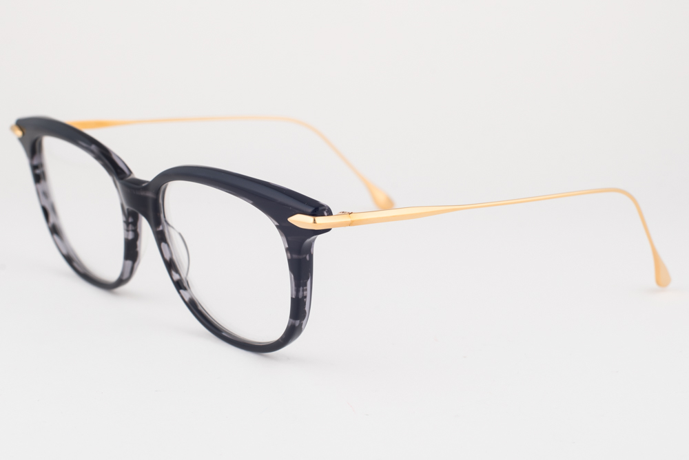 022a9236117 Details about DITA CHIC Black   Gold Eyeglasses DRX 3035 A 52mm