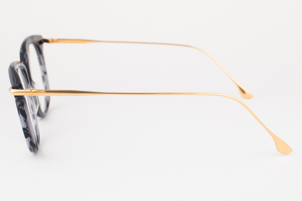 e424b989589 DITA CHIC Black   Gold Eyeglasses DRX 3035 A 52mm