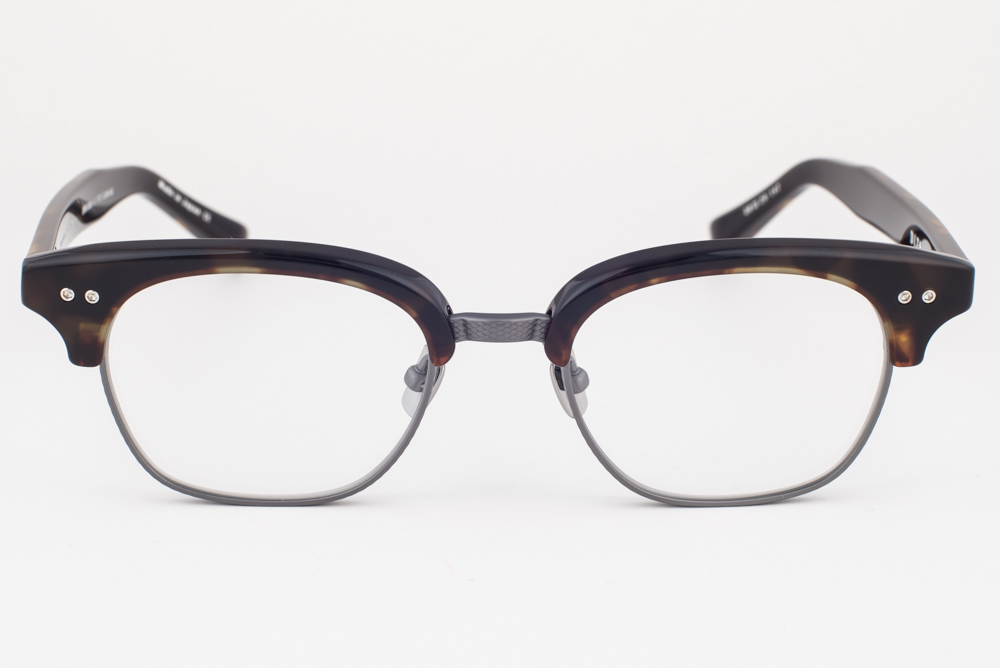 b22aa768198 DITA STATESMAN TWO Tortoise Gun Eyeglasses DRX 2051 E 50mm