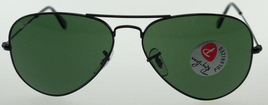 ray ban aviators polarized green