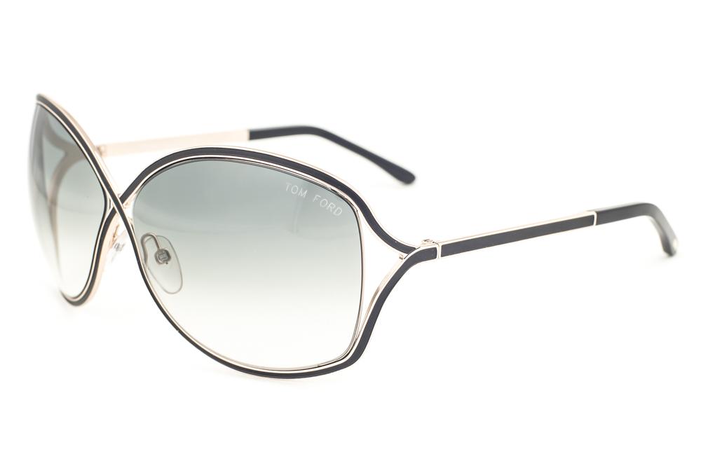 f0b57559cf Tom Ford Rickie Gold Black   Gray Gradient Sunglasses TF179 01B ...