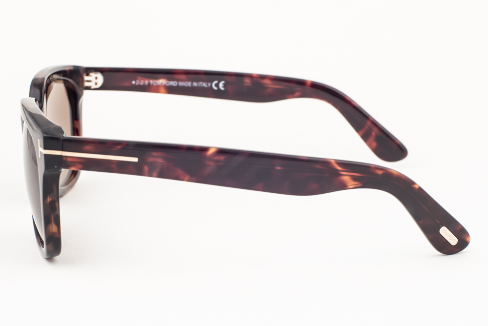 62eae31c196 Tom Ford Campbell Dark Havana   Brown Sunglasses TF198 56J ...