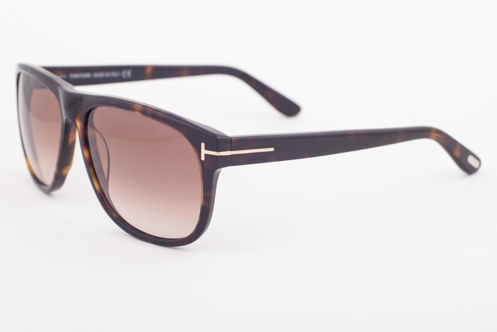9554b344bdfb Tom Ford Olivier Tortoise   Green Mirrored Sunglasses TF236 52Q