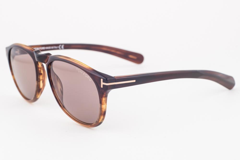 44d2b1d48fe Tom Ford Flynn Havana Brown   Brown Gradient Sunglasses TF9291 50F ...