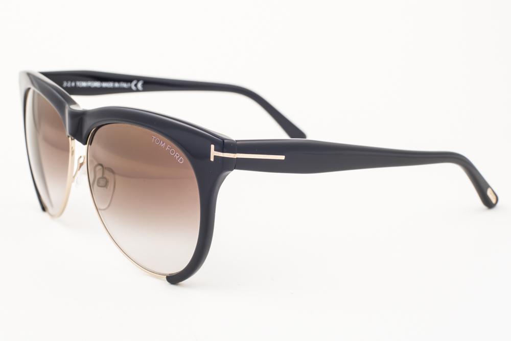 e65a57b6d7e Tom Ford Leona Black   Brown Gradient Sunglasses TF365 01G