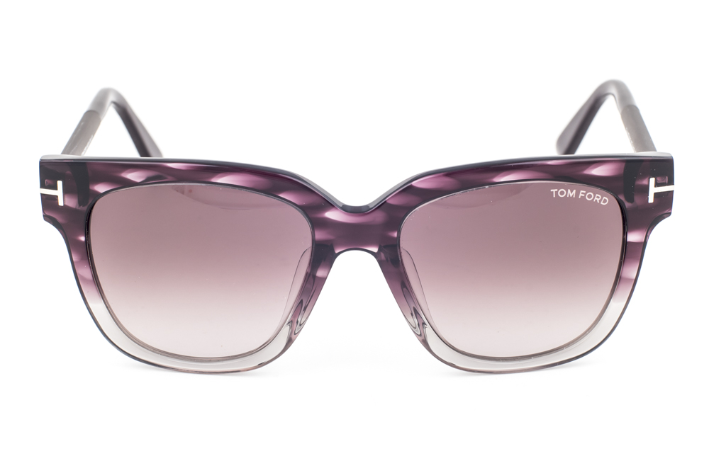 267c3c3f69a6 Tom Ford Tracy Violet Clear   Violet Gradient Sunglasses TF436 83T ...