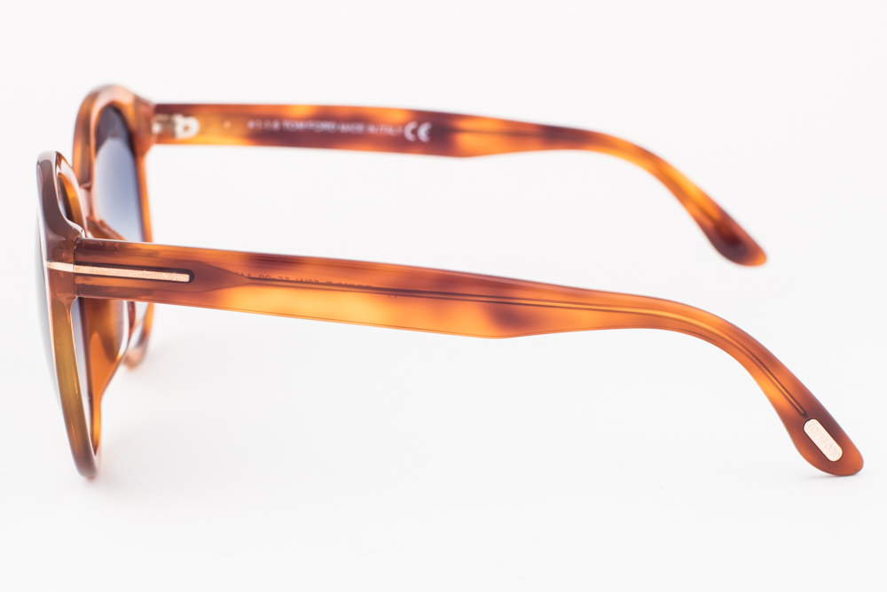 a0c0aab3a55 New Tom Ford Philippa Blonde   Blue Gradient Sunglasses TF503-F 53W Asian  Fit