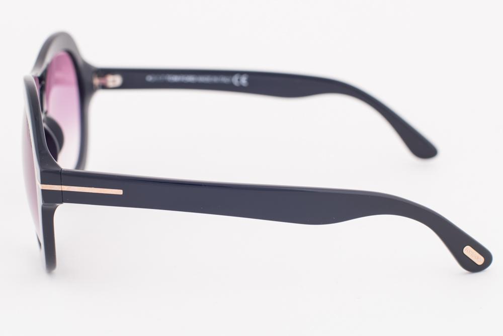 0ccd4e715ddb Tom Ford Isla Black   Purple Gradient Sunglasses TF514 01Z ...