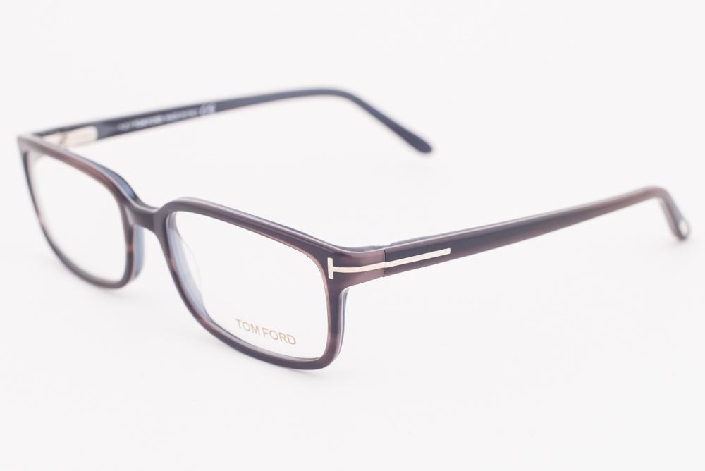 12cc61be48 Tom Ford 5209 020 Brown Eyeglasses TF5209 020 55mm