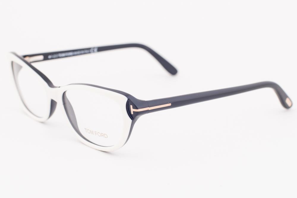 TOM FORD Eyeglasses FT5286 024 White 52MM