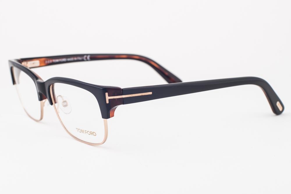 7570b00a6d08e Tom Ford 5307 005 Black Gold Havana Eyeglasses TF5307 005 52mm