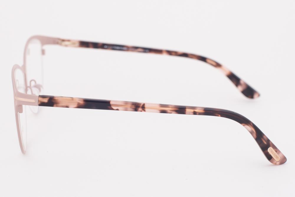 4b9fcaf12c Tom Ford 5420 074 Matte Pink Rose Eyeglasses TF5420 074 54mm ...