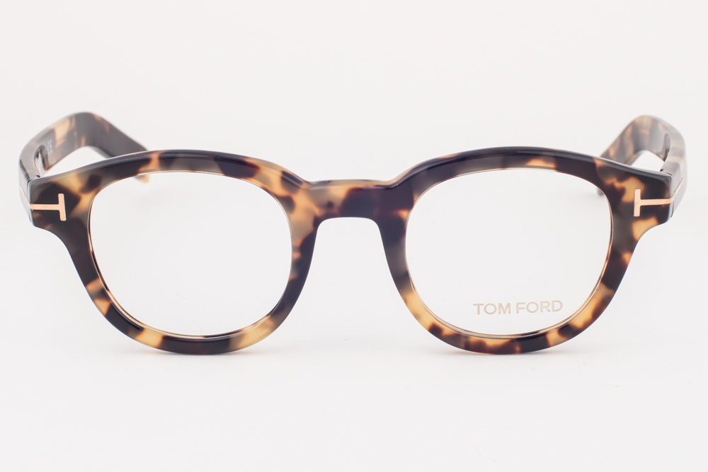 fd40d18f8a Tom Ford 5429 055 Yellow Havana Eyeglasses TF5429 055 45mm
