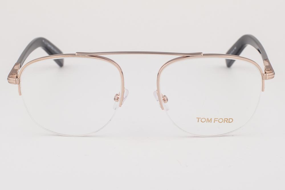 577071f3719 Tom Ford 5450 028 Shiny Rose Gold Eyeglasses TF5450 028 664689859344 ...