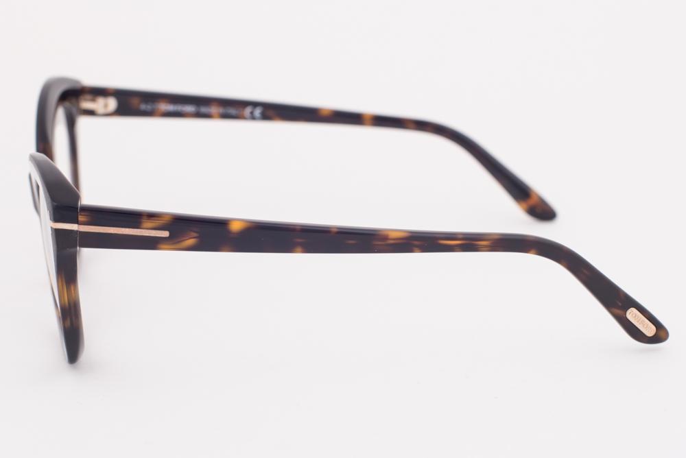ca564195ec3c Tom Ford 5456 052 Dark Tortoise Oval Eyeglasses TF5456 052 52mm ...