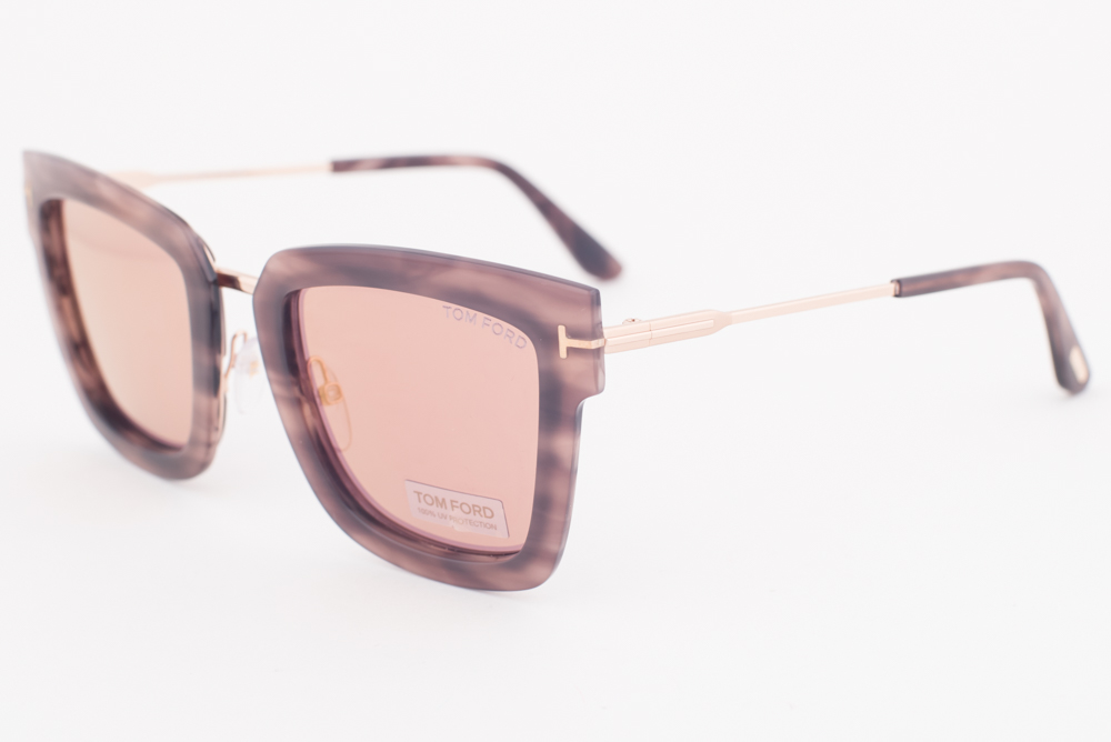 2dd340a07051e Tom Ford LARA Havana   Brown Sunglasses TF573 55Z LARA-02