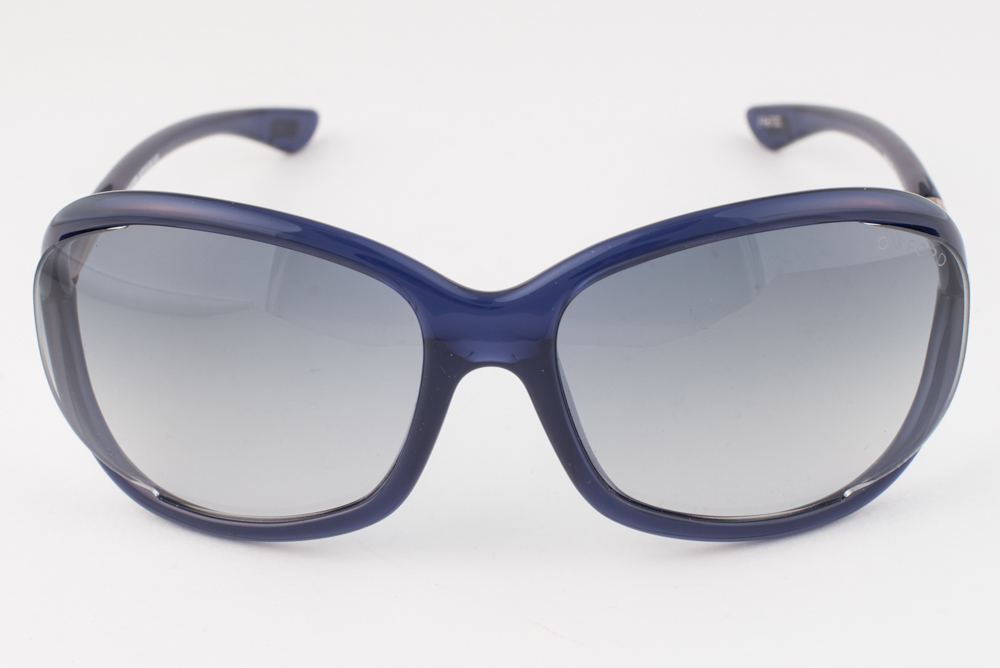 47029bf5d49 Tom Ford Jennifer Blue   Gold   Blue Sunglasses TF008 90W ...