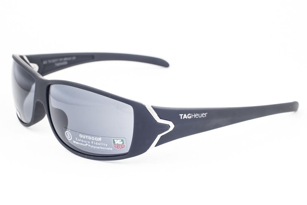 16959d44ec NEW Tag Heuer Racer 9207 Black   Outdoor Gray Sunglasses 9207 101